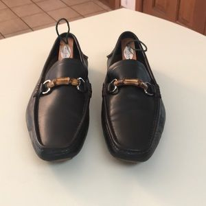 Gucci Bamboo Horsebit Loafers